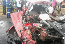 Photo of Six dead, others injured in gory accident at Mpaha Junction