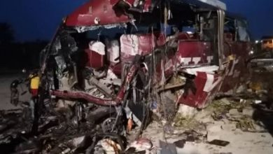 Photo of Photos: 16 dead in gory  accident on Accra-Kumasi highway