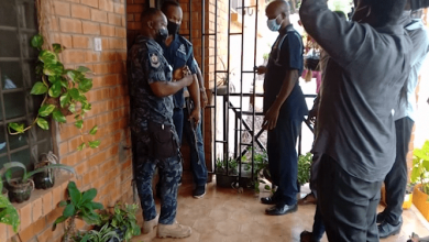 Photo of Video: Police close down LGBTQI office in Kwabenya