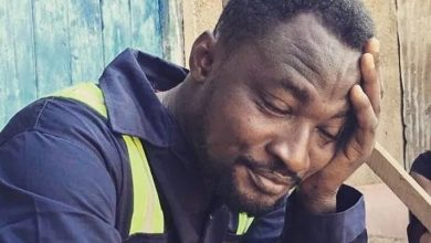 Photo of Video: Funny face apologizes to Ghana Police Service