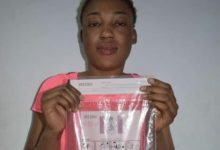 Photo of Photo: Chadian lady nabbed at airport with 234 grams of heroin concealed in private part