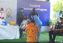 Photo of Videos: Vice President Bawumia and wife take COVID-19 Vaccine