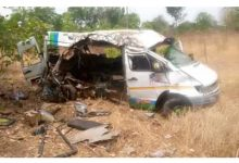 Photo of Five dead in gory accident on Accra-Kumasi Highway