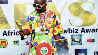 Photo of Don Elijah honoured at Africa Youth Showbiz Awards 2021