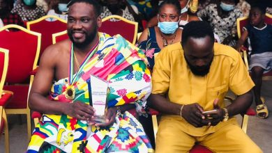 Photo of Photos + Video: Agogomanhene honours Salt Media CEO