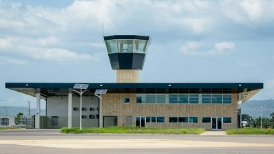 Photo of Ho airport welcomes first commercial flight today