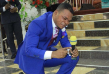 Photo of Bishop Obinim's father dead