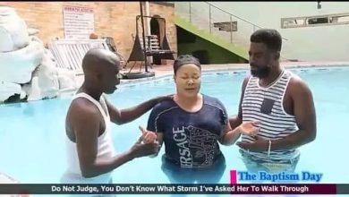 Photo of Photos: Nana Agradaa baptised