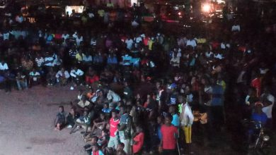 Photo of Photos:  Hundreds trooped in to watch Champions League Final on Salt FM's giant screen