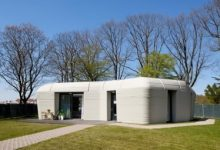 Photo of Photos + video: Dutch couple acquire Europe's first fully 3D-printed house