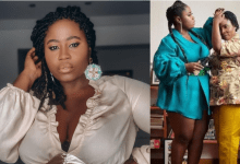 Photo of Photos: Lydia Forson rains curses on social media user who said her mom is not worth celebrating