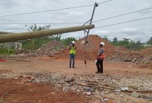 Photo of A/R: Illegal miners damage ECG installations