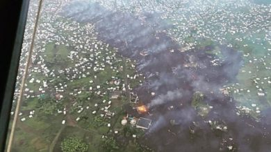 Photo of Mount Nyiragongo: Volcanic eruption leaves several homeless in DR Congo