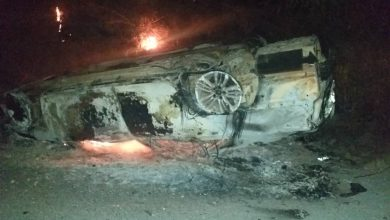Photo of E/R: Amanase youth set police car on fire over arrest of suspected spiritualist