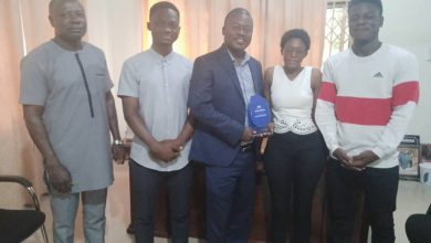 Photo of Asante Akyem North MCE honored