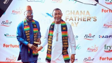 Photo of Ohene Kwame Frimpong, Stonebwoy, Dr. Lawrence Tetteh, Others Get Ghana Father's Day Awards