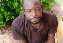 Photo of 35-year-old man arrested for raping his neighbour's 9-year-old daughter