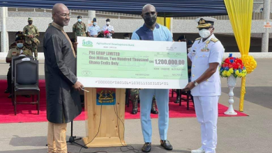 Photo of Kennedy Agyapong donates GH¢1.2 million to 37 military hospital