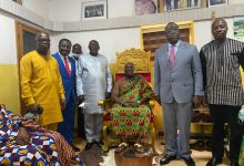 Photo of Paramount Chief of Effutu Traditional Area lauds Afenyo-Markin for outstanding performance