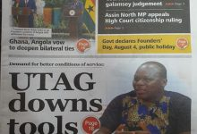 Photo of Newspaper headlines for Tuesday, August 3, 2021