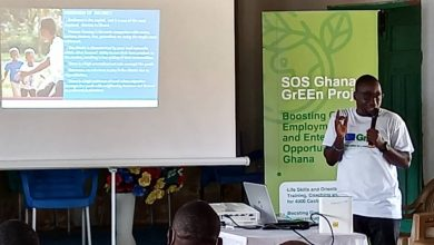 Photo of Drobonso youth benefit from EU, GrEEn entrepreneurship training [Photos]