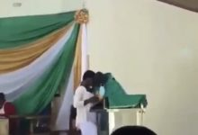 Photo of Photos of priest in viral kissing video emerges, check them out