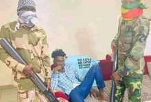 Photo of Photos: Guineans mimic  deposed leader's arrest in new social media challenge