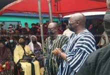 Photo of Bawumia's mother laid to rest [photos + video]