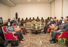Photo of Akufo-Addo, Ouattara in Guinea to confer with Military junta