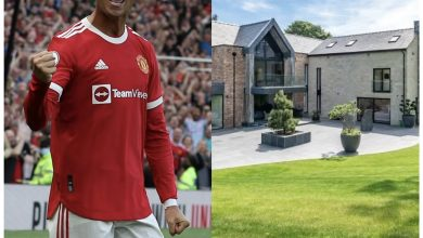 Photo of Cristiano Ronaldo relocates to another mansion after 'crying' sheep kept waking him up