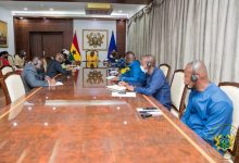 Photo of Guinea military delegation call on Akufo-Addo