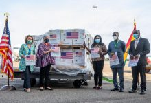 Photo of Coronavirus: Ghana takes delivery of 1.3m Pfizer vaccines from U.S