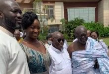 Photo of Video: Akufo-Addo's daughter marries son of his appointee