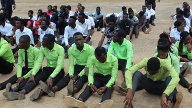 Photo of Koforidua: Qnet agents and recruits arrested